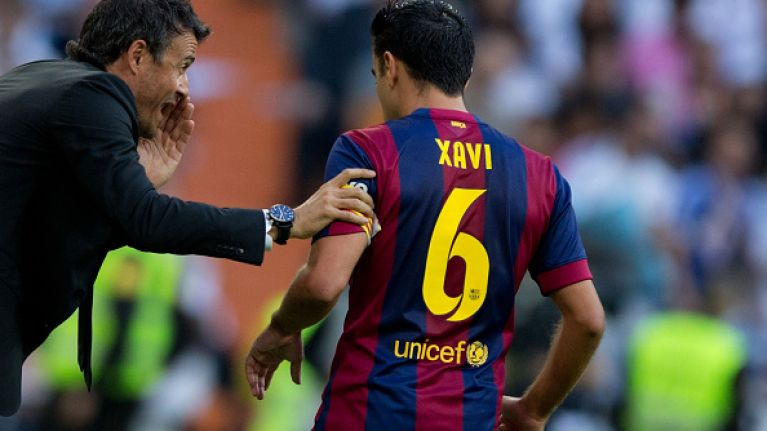 wholesale dealer 35d43 ed32f Barcelona to bid farewell to Xavi with special kit... | JOE ...