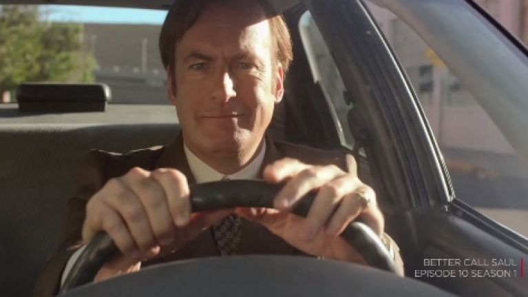 The first teaser for the second series of Better Call Saul