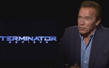 Arnold Schwarzenegger explains how he piled on the size for Terminator Genisys
