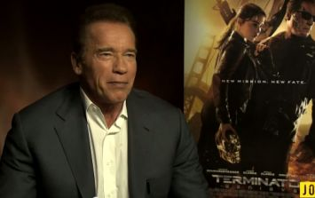 Exclusive Video: JOE meets Arnold Schwarzenegger
