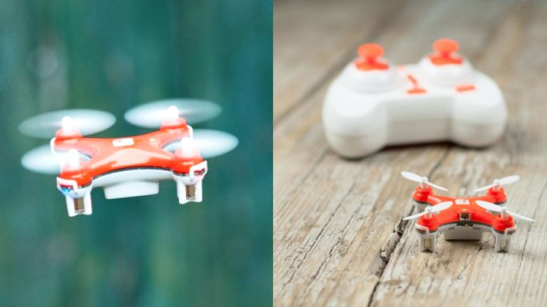 The world's smallest drone has zoomed straight to the top of our wish list (Video)