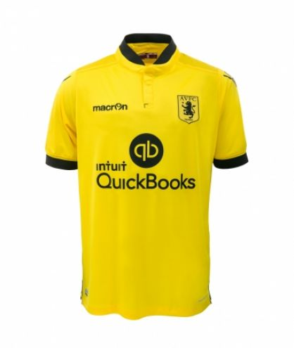Aston Villa Away: One of the better away kits this year - 8/10