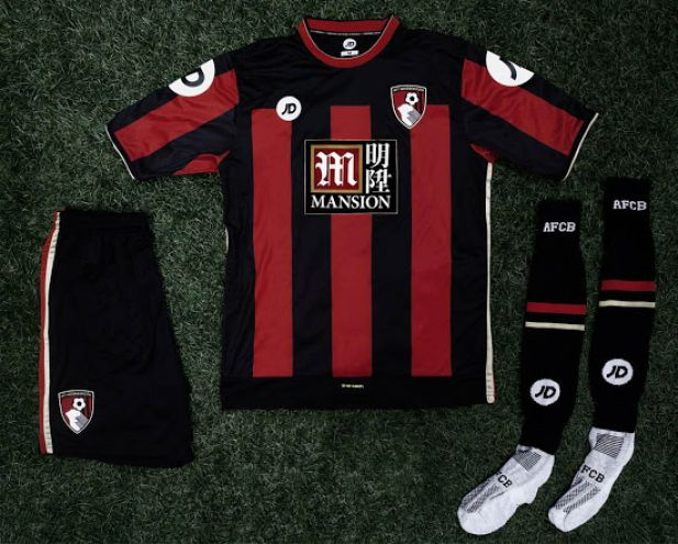 Bournemouth Home: That kind of shirt might cut it in the Championship, but you're playing with the big boys now - 5/10