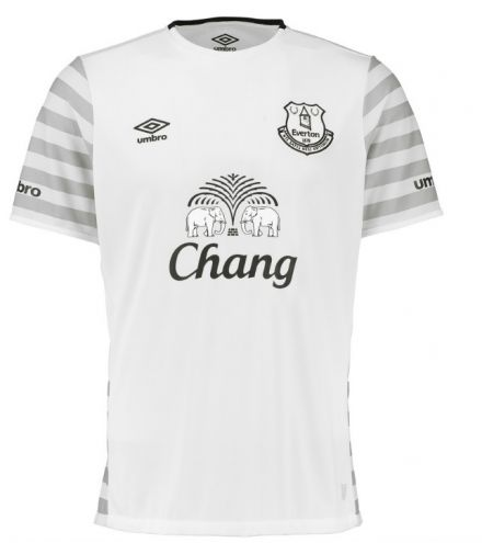Everton Away: Looks like the designer's printer was low on ink - 6/10