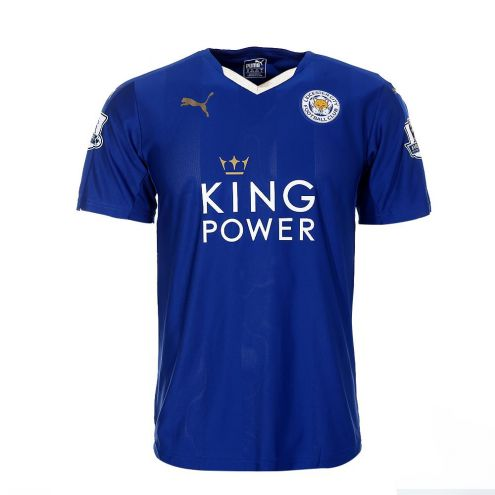 Leicester City Home: Now that's how you rock a white collar on a blue shirt - 7/10