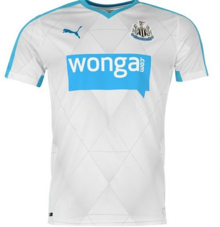 "Newcastle Change: The fact that they insist on calling this a ""change"" shirt instead of an away one means they lose a point - 4/10"