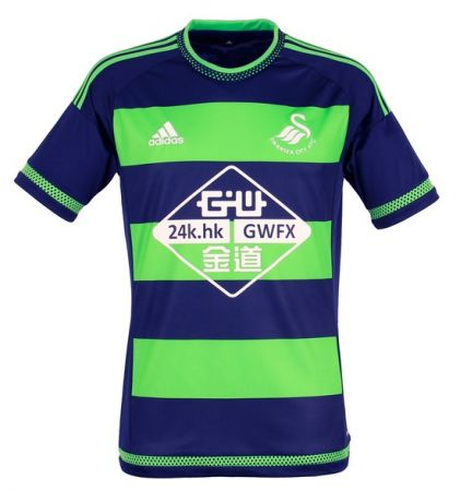 Swansea City Away: We apologise to Southampton for thinking they were alone in liking this colour combo. Marginally better than the Saints - 2.5/10