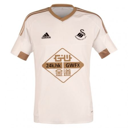 Swansea City Home: We'd complain about altering their kit to suit the sponsor if it wasn't such an obvious improvement on last year - 7/10
