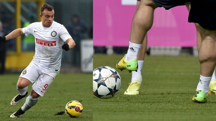 How the hell does Xherdan Shaqiri get legs like that?