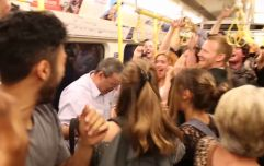 A dance party broke out on the London Underground. No really (Video)