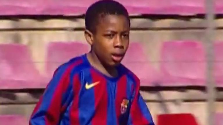 New Aston Villa signing Adama Traore was better than us when he was 8 (video)