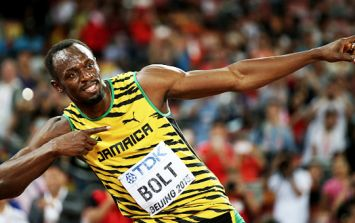 Usain Bolt is a doubt for the Olympics after a hamstring injury