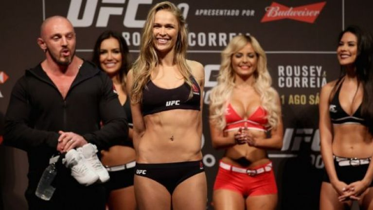 Ronda Rousey's UFC abs workout looks pretty damn punishing (Video)