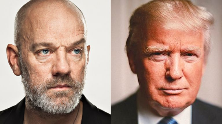Michael Stipe tells Donald Trump to 'go f**k himself' for using REM music