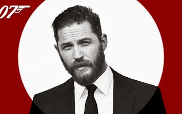 Legend star Tom Hardy reveals his ambition to be the next Bond...