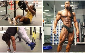 10 of the most ridiculous abs exercises ever from 8-pack monster Ulisses