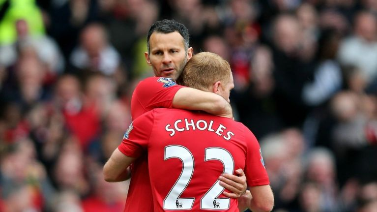 Image result for giggs scholes