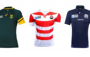 See all the 2015 Rugby World Cup kits in one place (Gallery)
