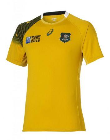 Australia: Not as good as previous Wallabies shirts, but still pleasant enough - 7/10
