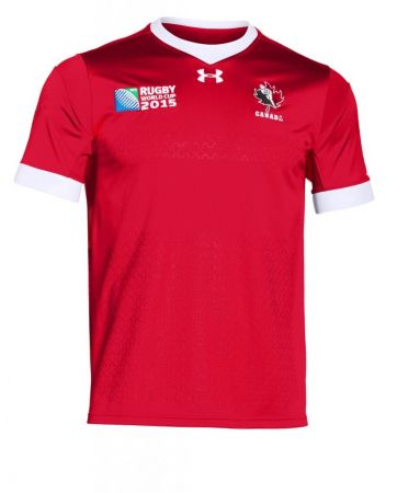 Canada: Die-hard rugby fans will probably say this one looks a bit too much like a football shirt - 6/10