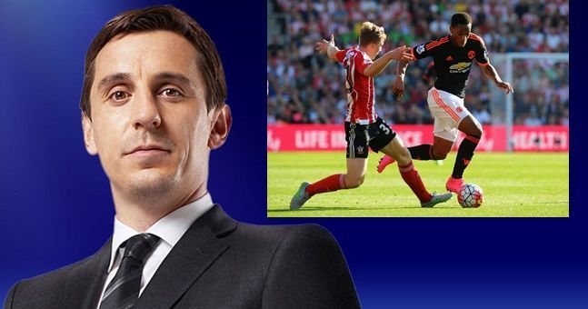 Gary Neville has his say on Anthony Martial's unexpectedly fruitful start to Premier League life