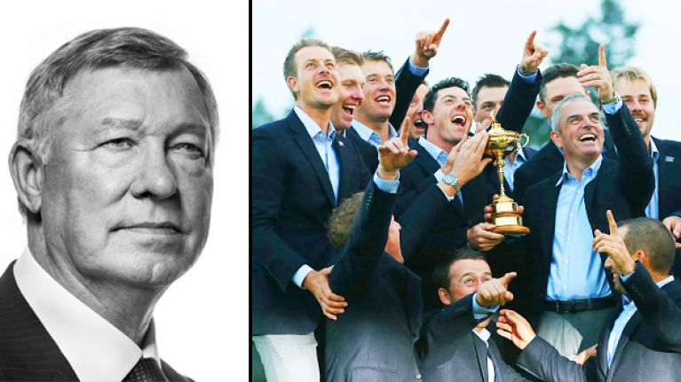 Sir Alex Ferguson, the Ryder Cup and the story behind this famous photo