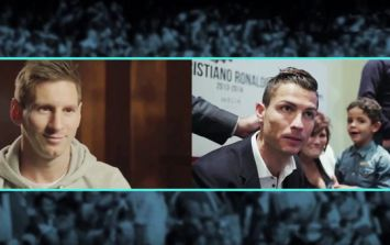 Messi reacts to Ronaldo's movie trailer in hilarious parody video