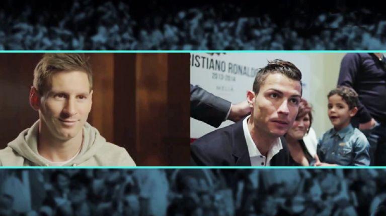 Messi reacts to Ronaldo's movie trailer in hilarious parody video
