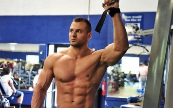 How Ryan Hughes went from 130lbs hardgainer to top American cover model