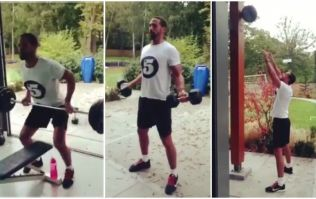 This is what Rio Ferdinand's morning workout looks like (Video)
