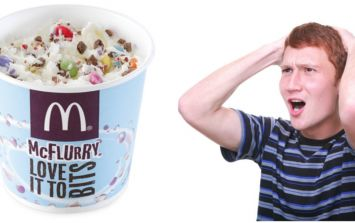Everyone is going apesh*t at McDonald's for 'killing off' the Smarties McFlurry