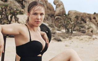 Ronda Rousey looks fighting fit ahead of her upcoming bout (Pics)