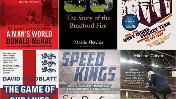Here are six sports books to add to your Christmas list
