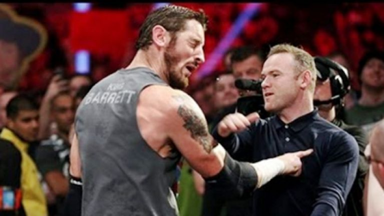 Wayne Rooney's WWE night got even better after his open-handed assault on Wade Barrett