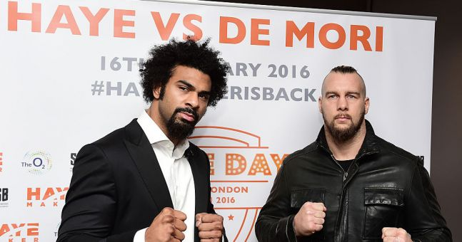 """It's impossible for him to want it as much as me"" - Mark de Mori talks to JOE about his fight with David Haye"