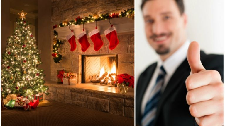 The Sweetest Christmas.Landlord Gives His Tenants The Sweetest Christmas Present