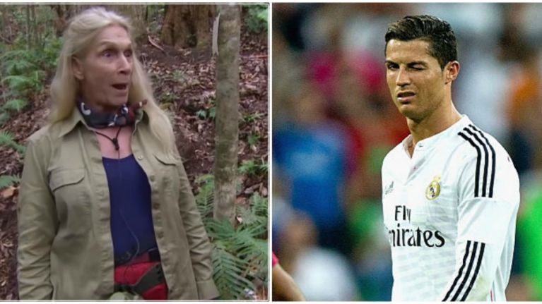 I'm A Celebrity's Lady C bizarrely confesses to crush on Cristiano Ronaldo