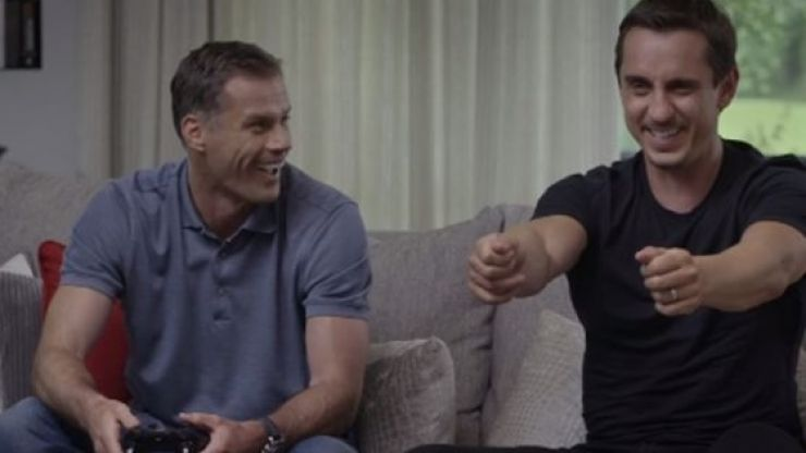 This was Jamie Carragher's reaction to Gary Neville leaving Sky Sports for Valencia