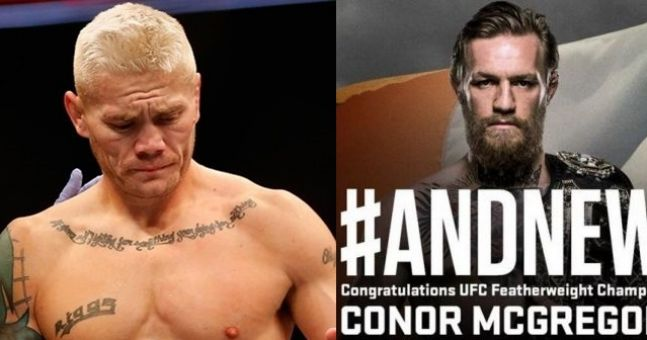 Who wants to remind Joe Riggs what he said he'd do if Conor McGregor won?