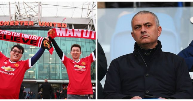 Man United fans call for Jose Mourinho during dismal home display