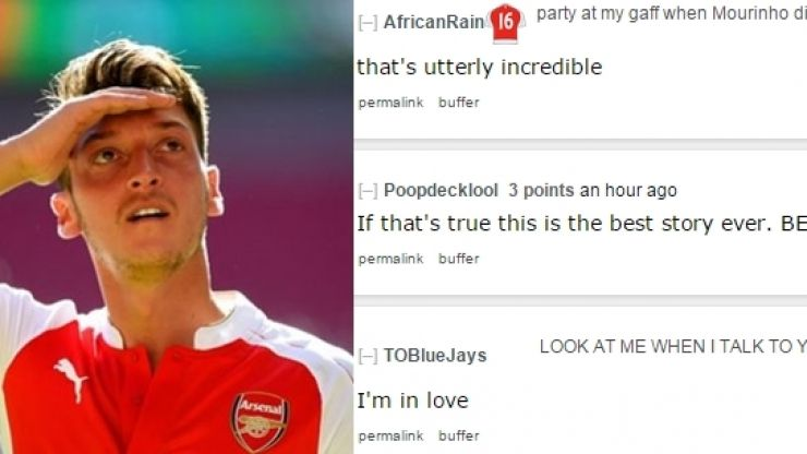 This girl had no idea that she asked two Arsenal stars to take a photo of her (Pic)