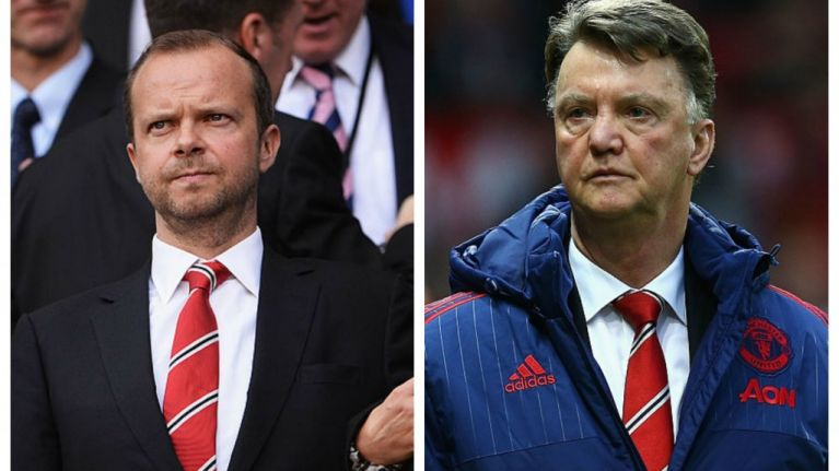 Ed Woodward In Discussions Over Louis Van Gaal's Future