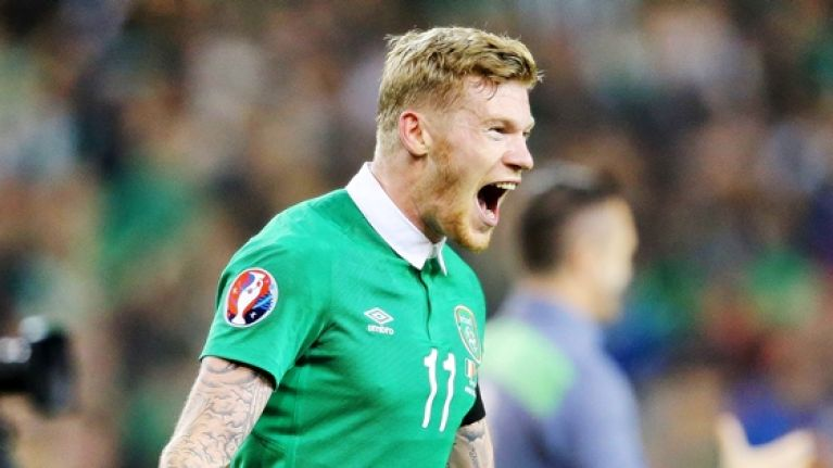 James McClean makes a 'significant' Christmas donation to help homeless in Derry