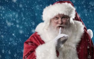 PIC: Is this Santa walking in the clouds above London?