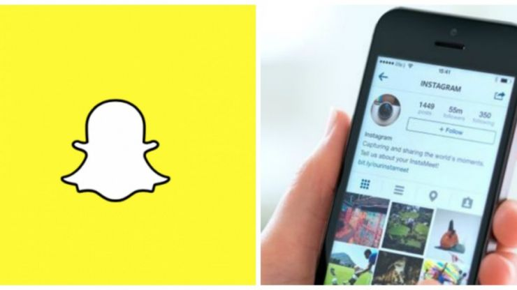 There's some bad news if you've been trying to link your Snapchat and Instagram accounts
