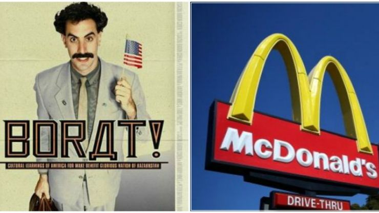 VIDEO: Borat's native Kazakhstan just got their first ever McDonald's...and they're loving it