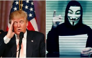 Anonymous are being investigated for hacking Donald Trump