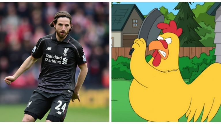 The internet can't stop laughing at this picture of Joe Allen on the cover of a chicken magazine