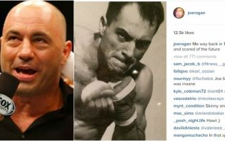 Joe Rogan looks absolutely ripped in this photo of him aged 23