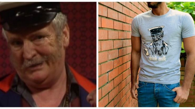 PIC: Father Ted's Pat Mustard is riding again but this time it's for a great cause